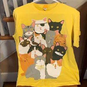 Tops - Enjoi cool cats tee in medium